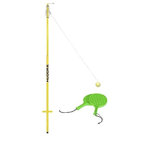 HUDORA Twistball-Set inkl. 2 Twistball-Schläger - Swingball - 76171