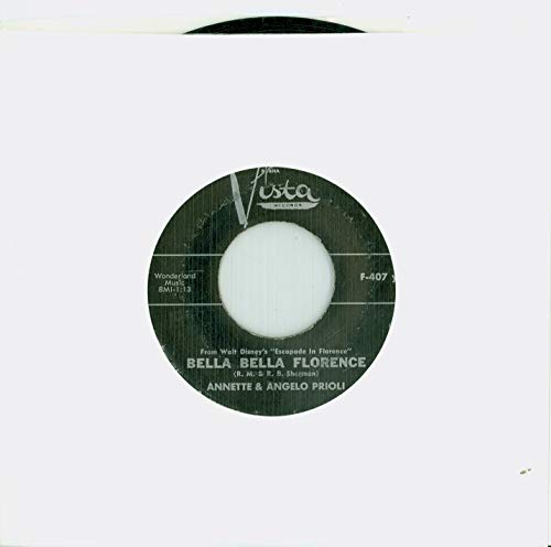 - Bella Bella Florence   Canzone D'Amore [by Gianni Marzocchi] - Annette And Gianni Marzocchi (Buena Vista Records 1962) Very Good to Excellent (4 out of 10) - Vintage 45 RPM Vinyl Record
