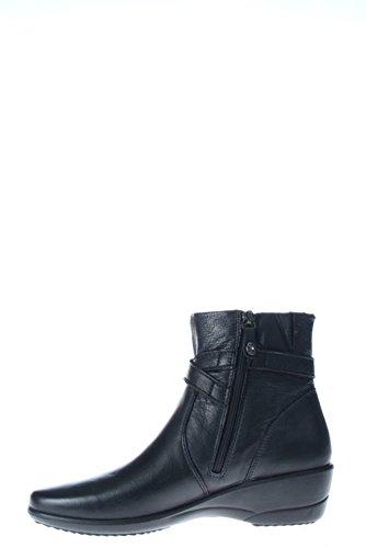 ENVAL - Zapatos de vestir de Piel para mujer Negro negro negro