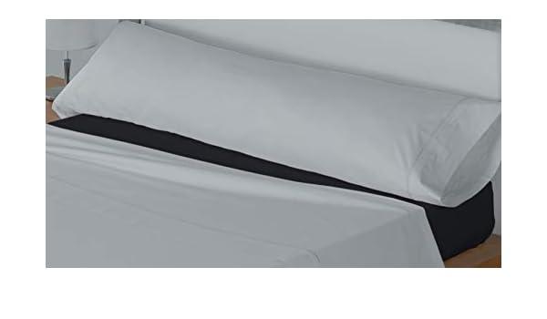 Lucena Cantos - Sábana Bajera Ajustable Coordina, Colores Lisos, (Negro, Cama de 135, 135 x 200): Amazon.es: Hogar