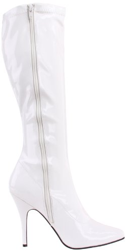 Pleaser USA Shoes 6603_1803664 - Botas para mujer Blanco (Weiss (Wht Str Pat))
