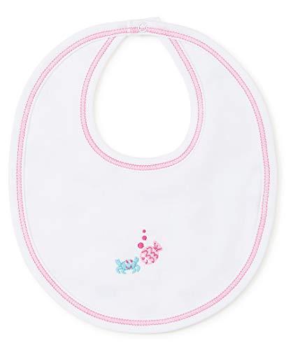 Kissy Kissy Baby-Girls Infant Under The Sea Print Bib-Fuchsia-One Size ()