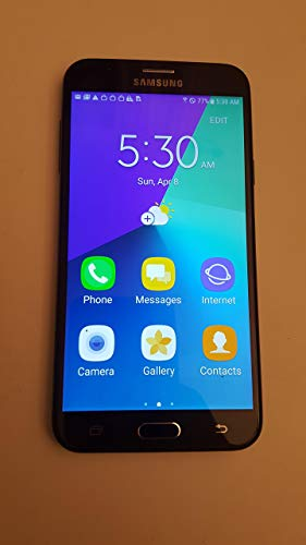 "Samsung Galaxy J7 4G LTE 5"" 16 GB GSM Unlocked - Black"