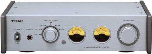 TEAC Reference 501 プリメインアンプ USB入力/192kHz/ハイレゾ音源対応 シルバー AI-501DA-S  シルバー B009ZQ766G