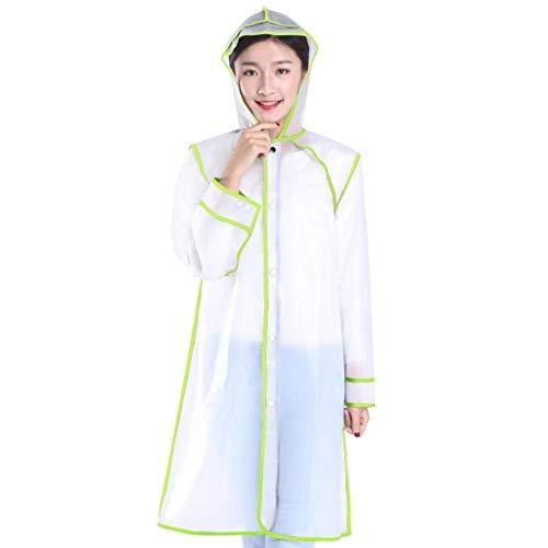 À Transparent Fashion Veste Poncho Manteau Imperméable Vêtements Adulte De Extérieur Pluie Capuchon 3 qXXwtxv64