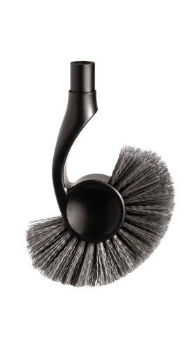 simplehuman Toilet Brush Replacement Brush Head, Black