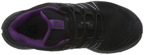 Da Scarpe Xa Salomon Running black magnet Lite Juice grape Trail Nero Donna qB1qntRwx