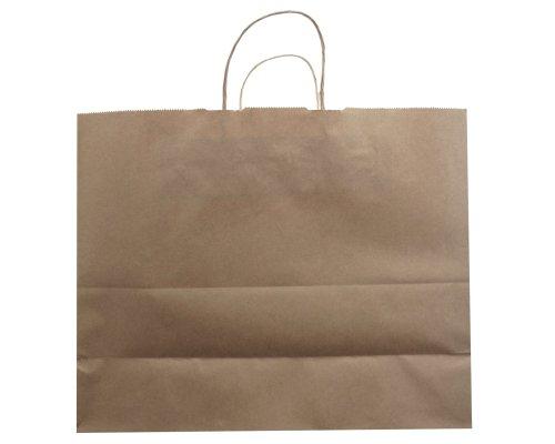 Jillson Roberts Bulk Jumbo Recycled Kraft Bags, Natural, 250-Count (BJK918) by Jillson Roberts