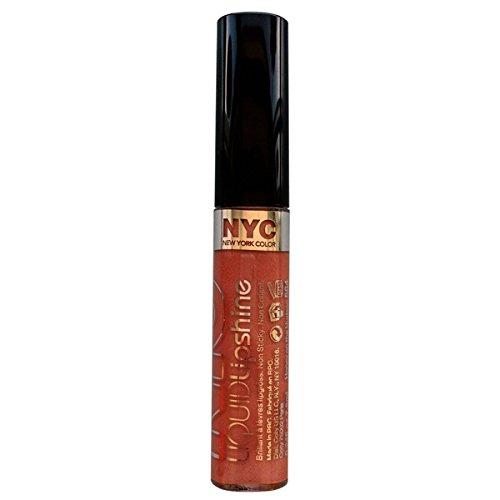 NYC Liquid Lipshine Lip Gloss 7.2ml-584 Honey On The ()