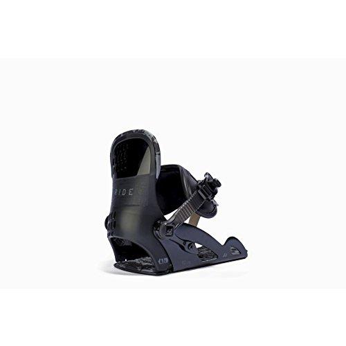 Ride Micro Snowboard Binding - Youth Black Medium
