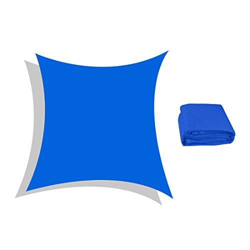 Peaktop 98% UV Block 24x24 Ft Square Sun Shade Sail Canopy Sun Shelter Perfect for  sc 1 st  Importitall & Peaktop 98% UV Block 24x24 Ft Square Sun Shade Sail Canopy Sun ...