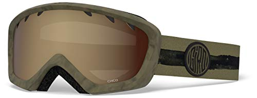 1217bf89ab69 Giro Chico Snow Goggle (Olive DYE LINE Amber Rose) - Kids