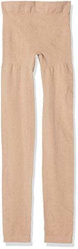 bellycloud Shape Figurformend, Seamless, Leggings Moldeadores para Mujer (lot de 2) Beige (Beige 968)
