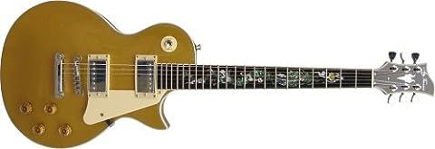 Jay Turser JT-220D Serpent Inlay Electric Guitar - Humbucker (Les Paul Gt)