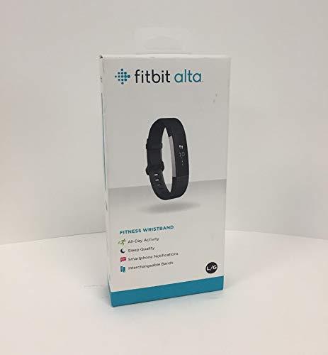 Fitbit FB406BKL Alta Fitness Tracker – Black – Large