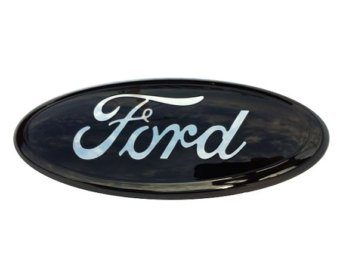 Exotic store NEW Black Modified emblem For FORD F-150 F-250 F350 Rear OVAL EMBLEM FRONT GRILLE Rear 9