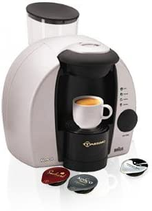 Braun Tassimo Freshly Brewed Coffee Cappuccino And Hot Drinks Machine Silver