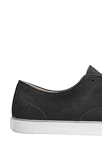 Vans Hommes Chaussures De Skate En Daim Noirblanc 6.5