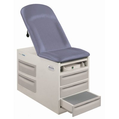 - Basic Exam Table Style: Left, Model: 4000, Color: Gunmetal