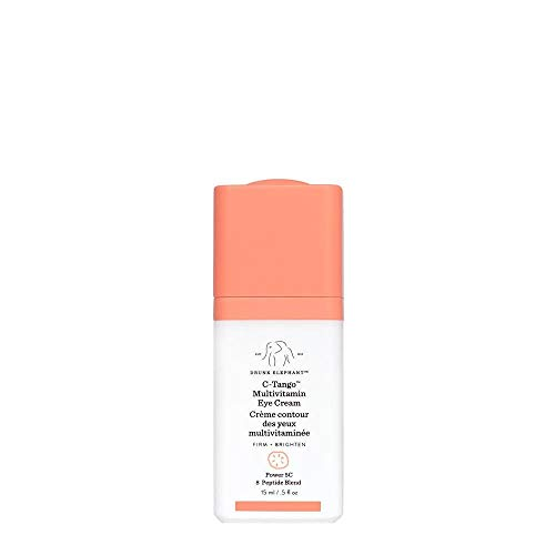 Drunk Elephant C-Tango Multivitamin Eye Cream. Brightening and Restorative Under Eye Cream with Vitamin C. 15 Milliliters/ .5 Ounce.