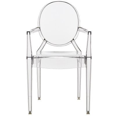 Kartell Louis Ghost chair, crystal: Amazon.co.uk: Kitchen & Home