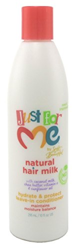 Just For Me Hair Milk Leave-in Conditioner Hydrate, 10 Ounce