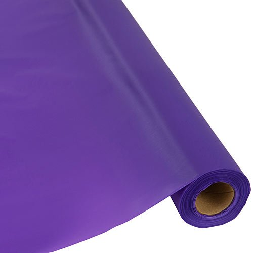 Plastic Table Cover 40 Inches Purple 300 Feet Roll