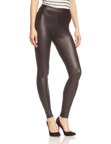 PIECES Damen Legging New Shiny