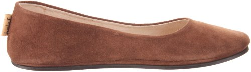 Flat Suede FS Sole Chocolate Women's Sloop NY French Ballet fUOwqA7f