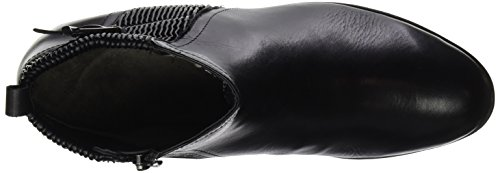 Caprice 25350, Botas Chelsea Mujer Negro (Black Nap.comb)