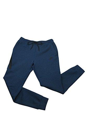 NIKE MENS SPORTSWEAR TECH FLEECE JOGGER SWEAT PANTS OBSIDIAN (S)