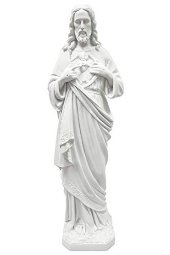 "33"" Sacred Heart of Jesus Catholic Italian Statue Sculpture Figurine Religious Vittoria Collection Made in Italy"