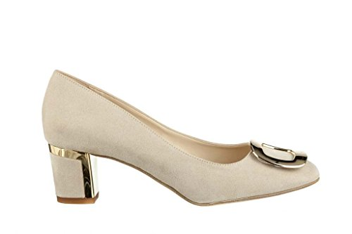 aus Leder 31 Damen Pumps Hohe 9499 Decollete RIPA shoes t1xSOZq