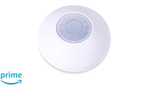 cocoso Motion 360 KNX - , Detector de movimiento, claro y de alta temperatura Sensor, 1 pieza, color blanco, 206: Amazon.es: Bricolaje y herramientas