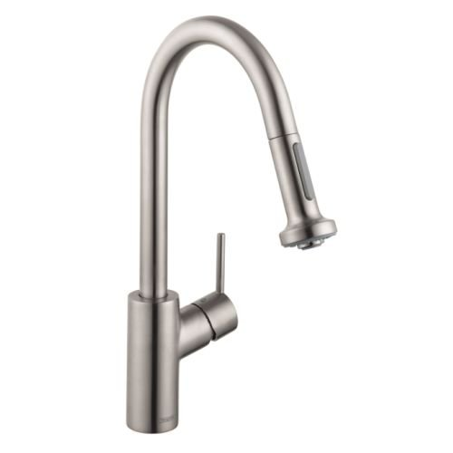 HG Talis S 2 Kitchen Faucet with Pull Down 2 Sprayer (Faucet Spray Hansgrohe)