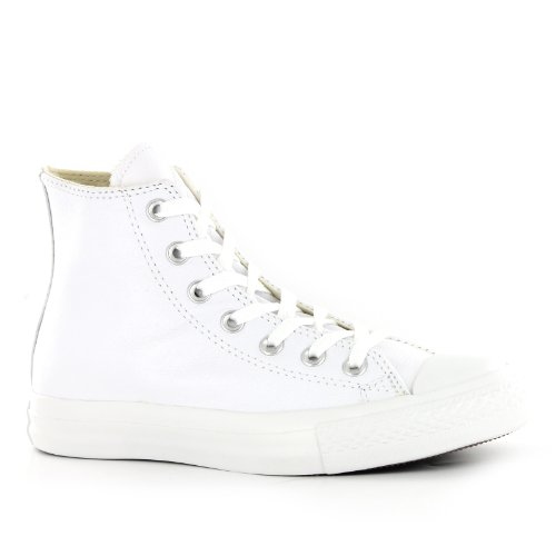 White Converse adulto AS Leather unisex AQ564 Sneaker HI CT 1qxZgPvqw0