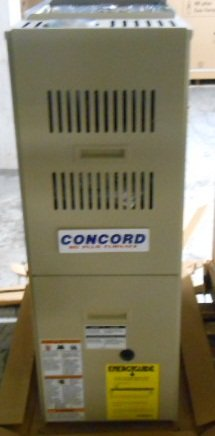 CONCORD CG80TB050D12A-2 50,000 BTU UP/HORIZONTAL NATURAL GAS