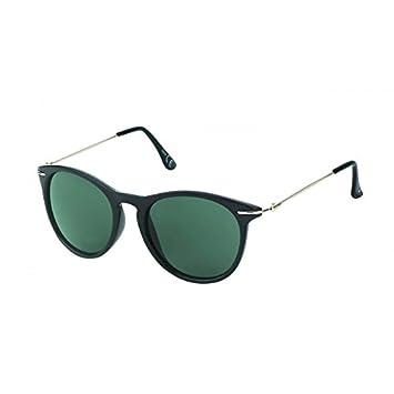 Chic-Net Sonnenbrille rund John Lennon Punkte Vintage Retro 400UV Schlüsselloch Steg blau UMe1MHuX1A