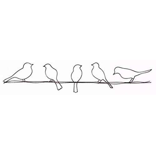 Graham U0026 Brown 41 221 Bird On A Wire Metal Wall Art