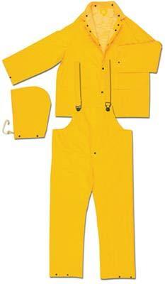 ORR Classic PVC Polyester 3 Piece Rainsuit 5XL (18 Pack) (Classic Rainsuit)