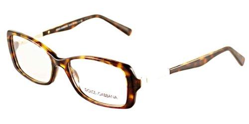 237cf9a66e911c DOLCE   GABBANA Monture lunettes de vue DG 3156 502 Havana 51MM ...