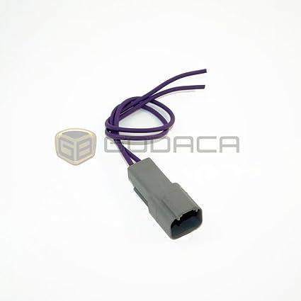 Amazon com: 1x 2 Pin 2-way Connector DT Deutsch DT04-2P