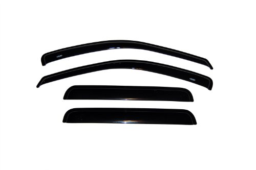 Auto Ventshade 94650 Original Ventvisor Side Window Deflector Dark Smoke, 4-Piece Set for 1999-2004 Jeep Grand Cherokee