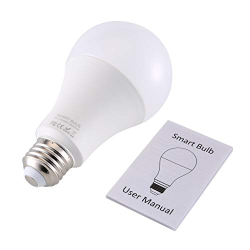 Q9 Smart WiFi Light Bulb RGB Magic Light Bulb Lamp Wake-Up Lights Remote Control for Alexa/Google Home Assistant APP