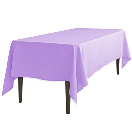 LinenTablecloth 60 x 126-Inch Rectangular Polyester