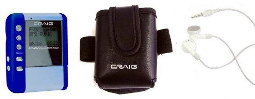 Craig Electronics CMP1400C/E/P 512MB Digital MP3 Player with SD Slot