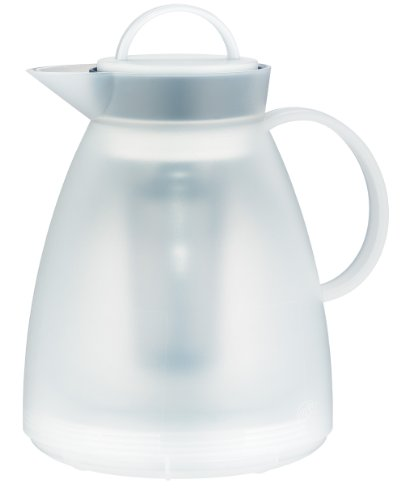Kaiser Alfi 31935011100 Dan Stainless Steel Matte Finish 8-Cup 1-Liter Coffee and Tea Carafe with Tea Filter