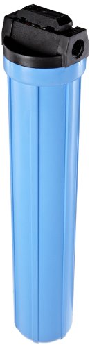 Pentek 150166 3/4#20 VIH Blue Filter Housing with Valve and Pressure Relief