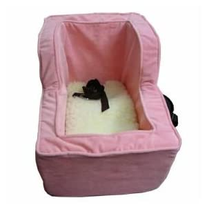 Snoozer High-Back Console Pet Car Seat, X-Large High Back, Pink