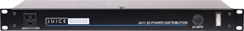 Juice Goose JG11-20A Rack Mount Power Conditioner (Power 20a Conditioner)